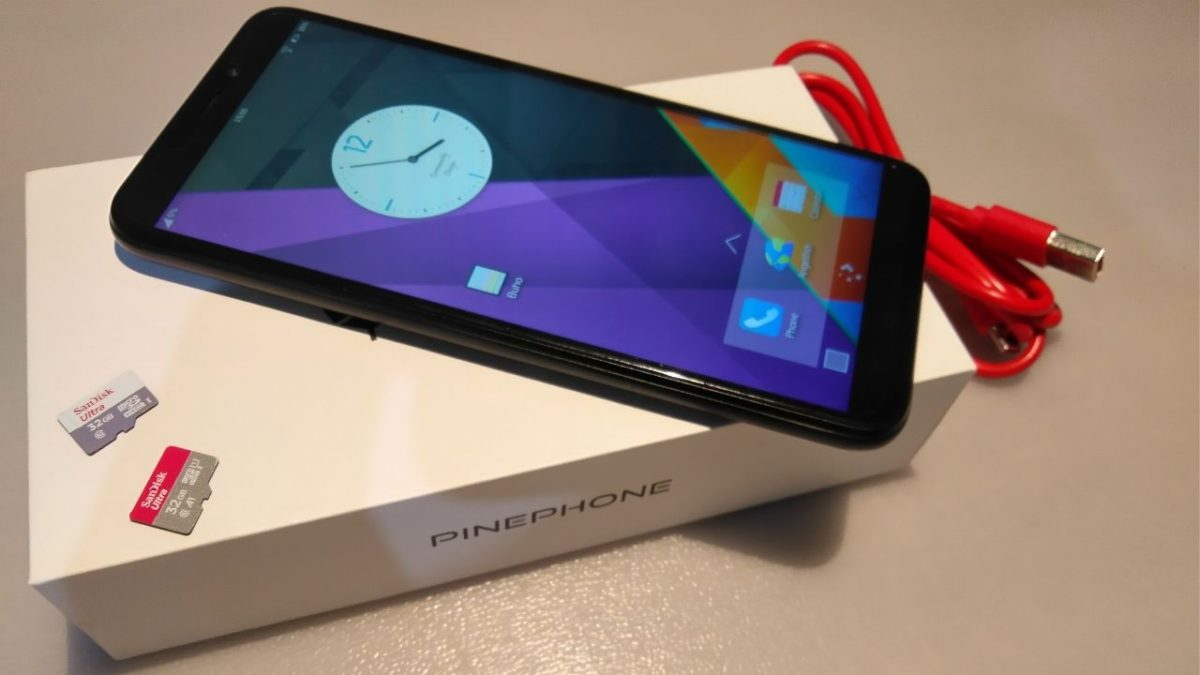 Pinephone - open, hackable and powered by Linux smartphone